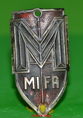 Vintage bicycle - plate   Manufacturers logo - MIFA / 5033