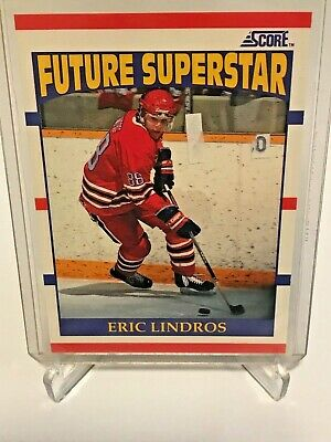 Eric Lindros ROOKIE Future Superstar 440 1990-91 Score NHL Philadelphia Flyers