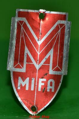 Vintage bicycle - plate   Manufacturers logo-MIFA023