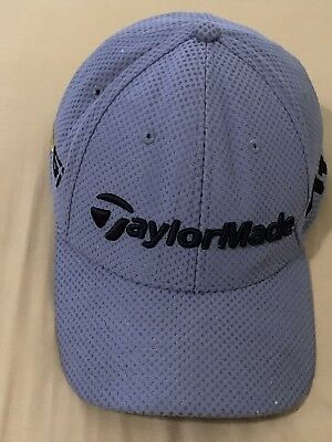 TAYLORMADE M1 PSI Golf Hat Adjustable gray Tour headware hook and ... 0372ebf4ba45