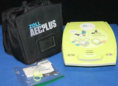 ZOLL AED PLUS Public Use AED, Factory Recert, New Adult Pads