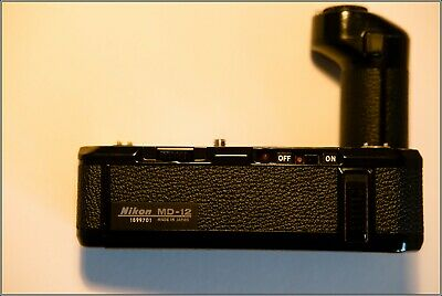 Nikon MD12 Motor Drive for FM and FE cameras