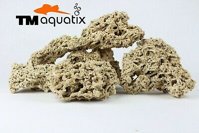 25 Kg  Light Limestone Ocean Rock Malawi Cichlid Aquarium Fish Tank Stones