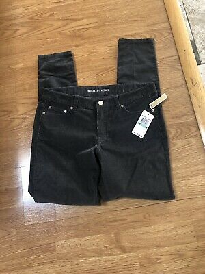 9663803d048d0f Michael Kors Womens Corduroy Skinny Pants Size 8 New With Tag Retail Price  150$