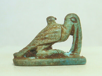 Ibis the sacred bird of Ancient Egypt Amulet (Faience)