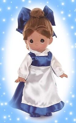 """💙 Disney Princess Beauty & The Beast Belle in Blue Precious Moments 12"""" Doll 💙"""