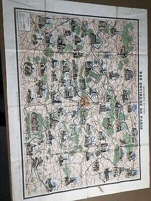 Pairs Map  1800s Double Sided