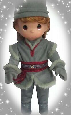 "❄️Disney Frozen Doll Kristoff Precious Moments 12"" Vinyl Doll❄️"