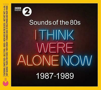 SOUNDS OF THE 80's I THINK WE'RE ALONE NOW 3 CD ALBUM SET (Released 2019)
