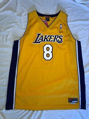 b56a5d890 100% Authentic Kobe Bryant  8 Vintage Nike Swingman Lakers Jersey Size 2XL  NWT