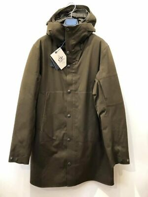 c468a20f3cf BNWT CP COMPANY hooded trench jacket in technical performing P-Lastic Sz 58  4XL