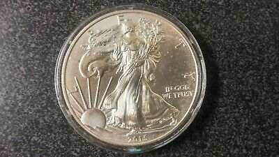 2015 American Silver Eagle Coin 1 oz. .999 fine Silver Uncirculated