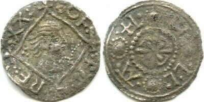Saxon portrait penny king offa hammered silver saxon penny 757-796 spink 905