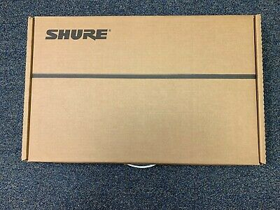 Shure ULXD4D Dual Channel Digital Wireless Receiver for ULX-D Series H50 Band