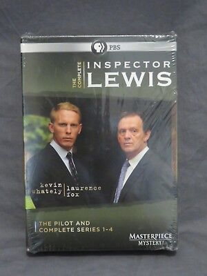 Nuovo Ispettore Lewis Completo 10 DVD Cofanetto Pilota + Serie 1-4 Pbs Mystery