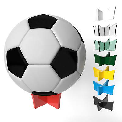 Display Stand For Footballs  Plinth Riser Holder 8 Colours