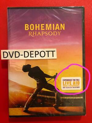 Bohemian Rhapsody DVD *AUTHENTIC DVD READ DESCRIPTION* New FAST Free Shipping