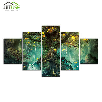 modern canvas wall art pictures hd prints paintings 5 pcs home bar decor Frames