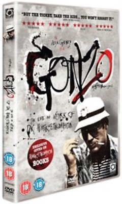 Gonzo - The Life and Works of Dr Hunter S. Thompson DVD NUOVO