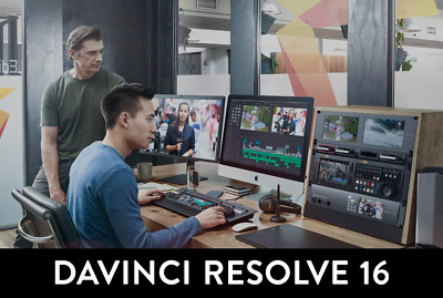Davinci Resolve 12.5 Studio with Dongle SD card with Software & Manual Brand New