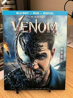 Venom (Blu-ray + DVD + Digital) BRAND NEW w/Slipcover