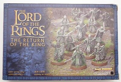 Lord of the Rings Warhammer - Army of the Dead - All Metal