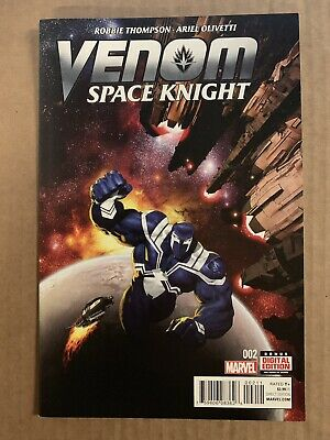 Venom Space Knight #2 First Print Marvel Comics (2015)