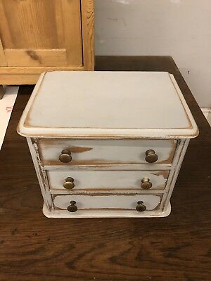Antique Miniture Chest Of Drawers