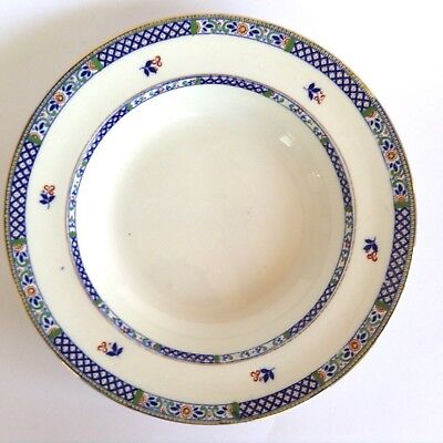 Antique 1915 Booths Silicon China English Staffordshire Vintage Soup Bowl