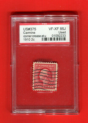 US Stamp Scott 375 Used With ***PSE Grade 85***