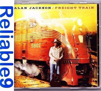 Alan Jackson - Freight train CD Brand new not sealed-2010 Sony-Made in Australia