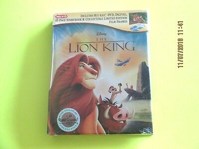 the LION KING (Blu-ray/DVD/Digital)  Target Exclusive NEW