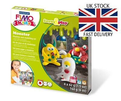 🇬🇧Oven Clay Kids Educational Form And Play Sets FIMO 🇬🇧FAST DELIVERY🇬🇧