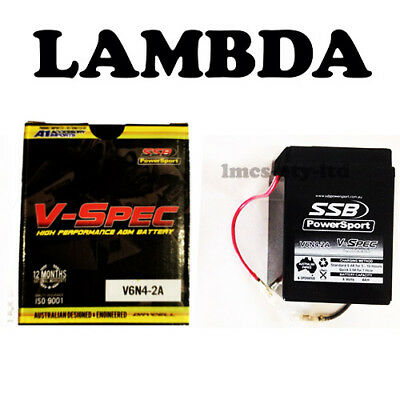 Battery 6v for Honda CT110 and CT90 Postie Bikes