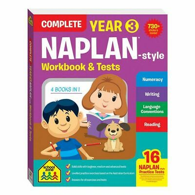 NEW School Zone Complete Year 3 NAPLAN*-style Workbook and Tests