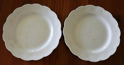"""J & G Meakin Dinner Plates"" , C1920 , Two (2) Of ,Excellent Aged Condition !"