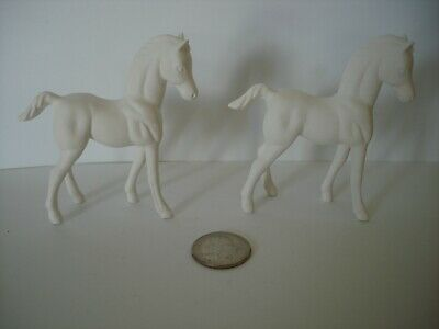 Ceramic Bisque Ready to Paint Small Horse Colts Figurines