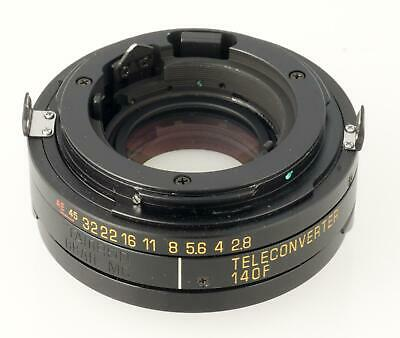 Tamron SP Adaptall 1.4 Teleconverter 140F for 300 2.8, 500 Mirror and More