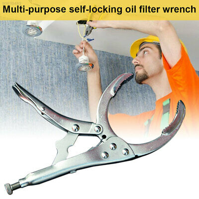 94B2 Alloy Steel Oil Filter Wrench Pliers Oil Filter Spanner Hand Tool