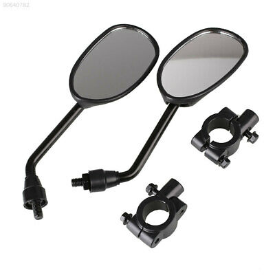 5A97 1 Set Universal Rear Mirrors Moto Motorbike Scooters Side Rearview Mirror