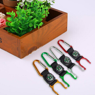 CFB8 Buckle compass color Random Camping Carabiner tools practical utility