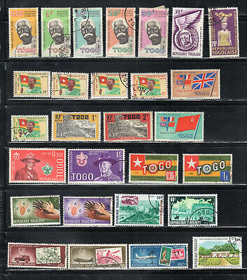 Togo  Africa Stamps   Used & Mint Hinged  Lot  39094