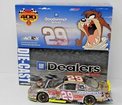 1/24 Kevin Harvick Gm Goodwrench Looney Tunes Rematch Dealers Exclusive 2002