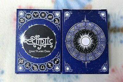 1 deck Ecliptic Zodiac BLUE Playing Cards-S103049236-走3-3