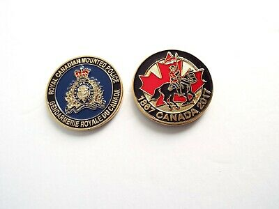 RCMP Challenge Coin -  Canada's 150 Year Anniversary! (2017RCG) Gold Colour