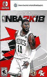 NBA 2K18 Basketball Video Game for Nintendo Switch Consoles