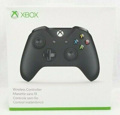 Official Microsoft Xbox One  Black Controller Wireless Bluetooth Window 10 NICE!