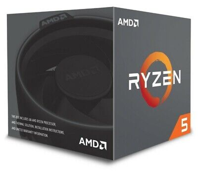 AMD Ryzen 5 2600 Socket AM4 3.4 GHz 12 nm 6-Core CPU (YD2600BBAFBOX)