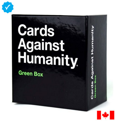 Cards Against Humanity - Green Box (Expansion Pack) - Adult Content