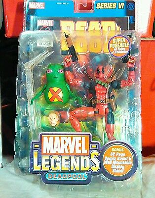 "Deadpool Series Vi 6 "" Figur Original Marvel Legends Toybiz Verpackt"